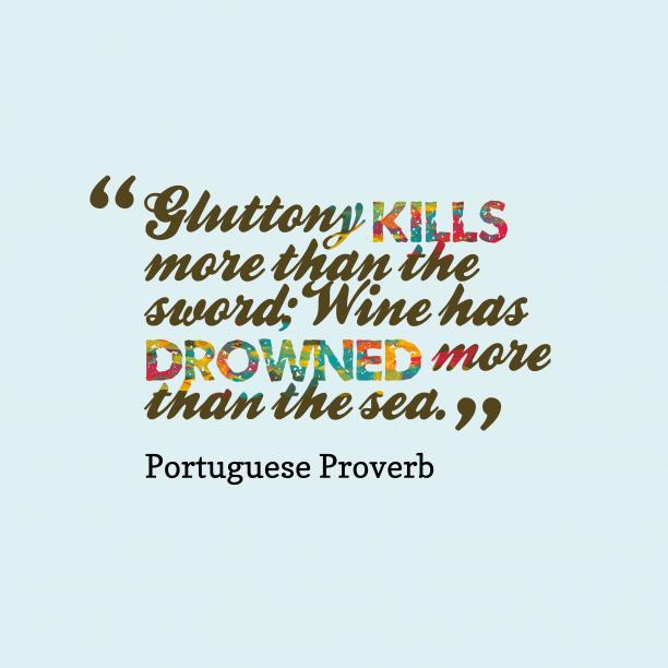 portuguese proverb about danger.