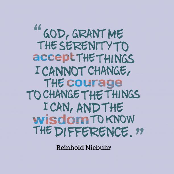 God, grant me