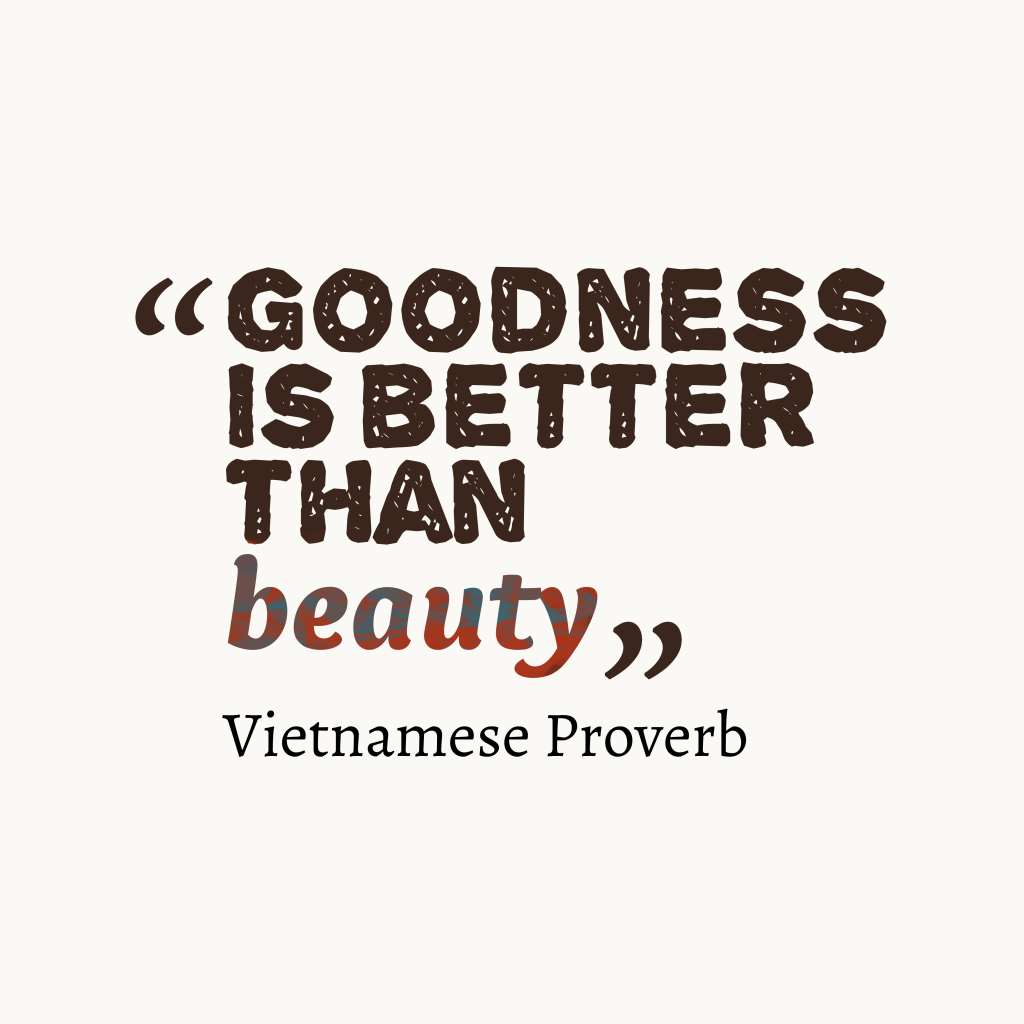 Vietnamese prover about value.
