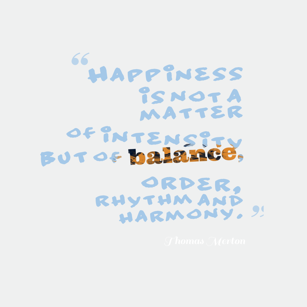 Thomas Merton quote about happiness