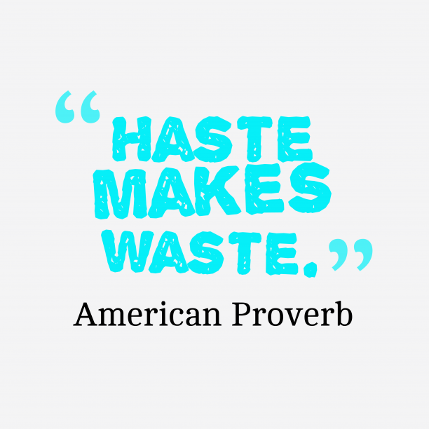 American proverb about work.