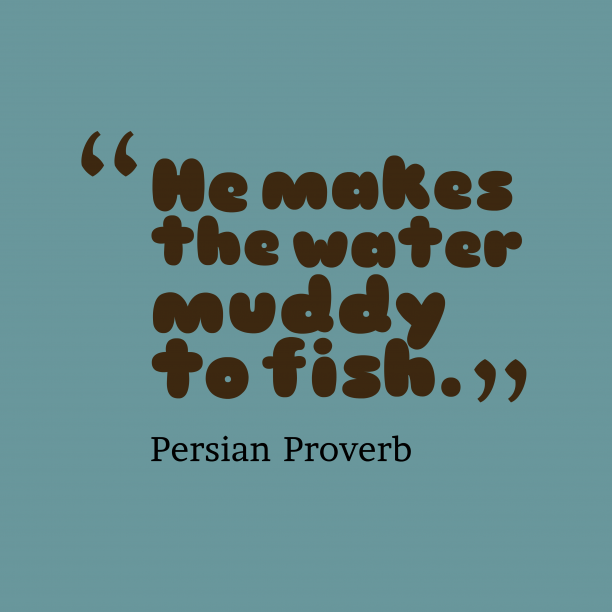 Persian Wisdom 's quote about .  He makes the water…