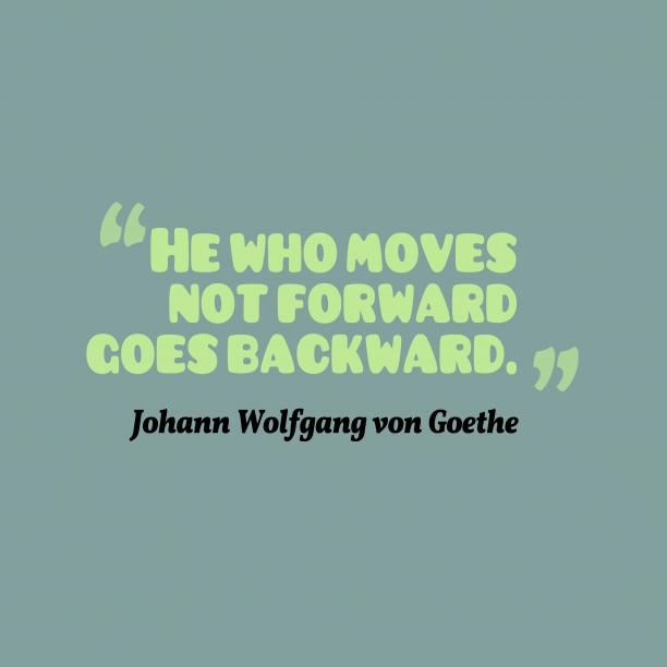 Johann Wolfgang Von Goethe quote about goals.
