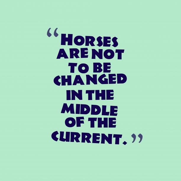 Portuguese proverb about change.
