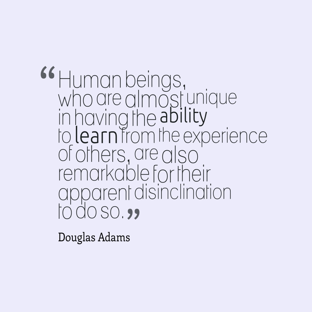 Human beings, who