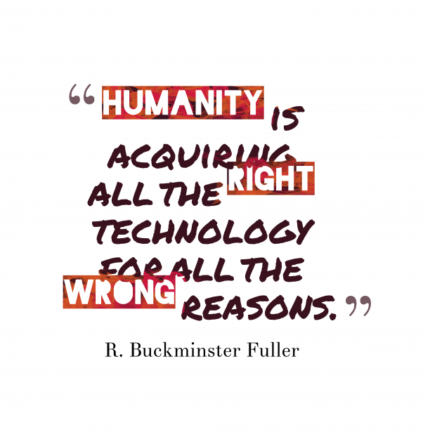 Humanity is acquiring