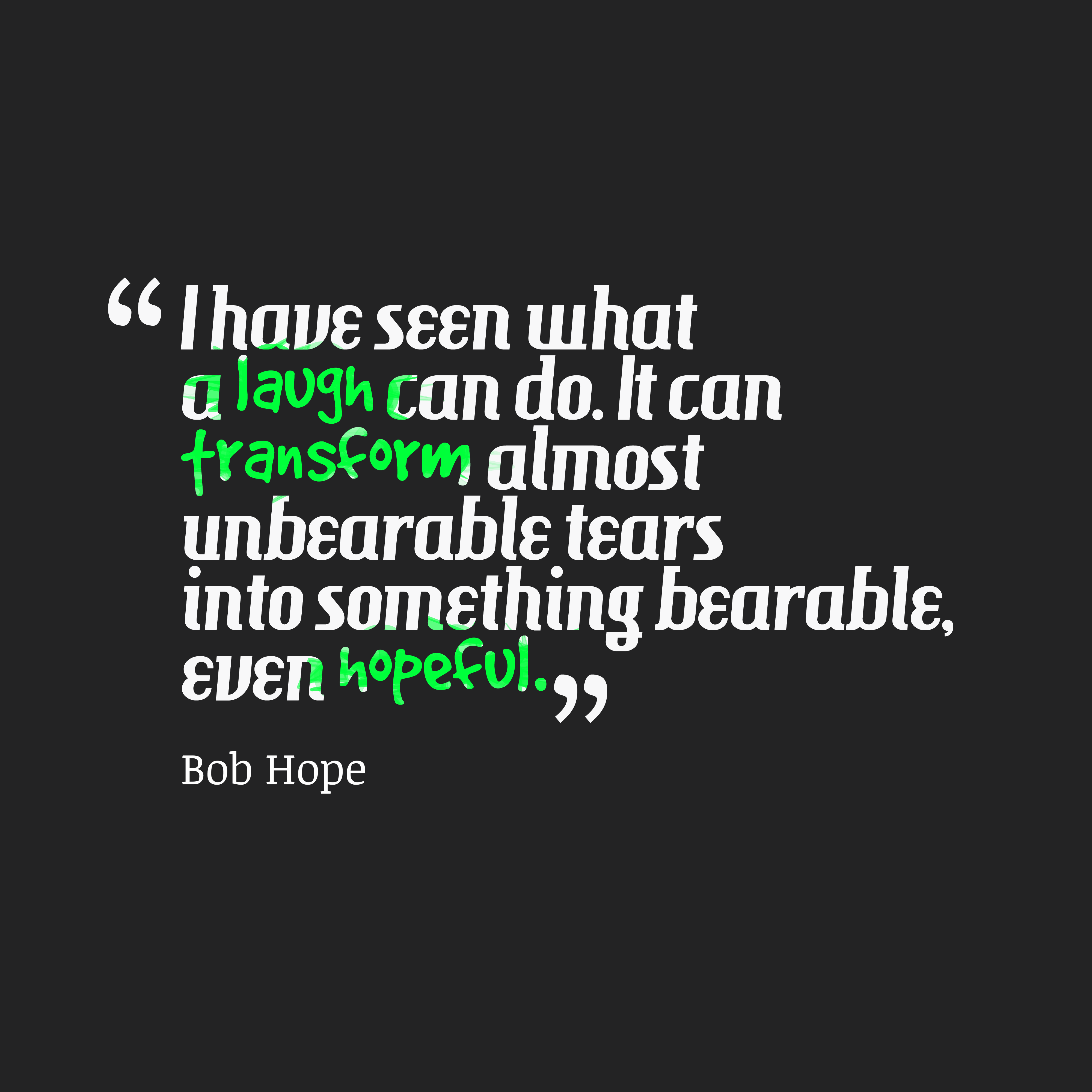 Laughter Quotes With Pictures: Bob Hope Quote About Laughter