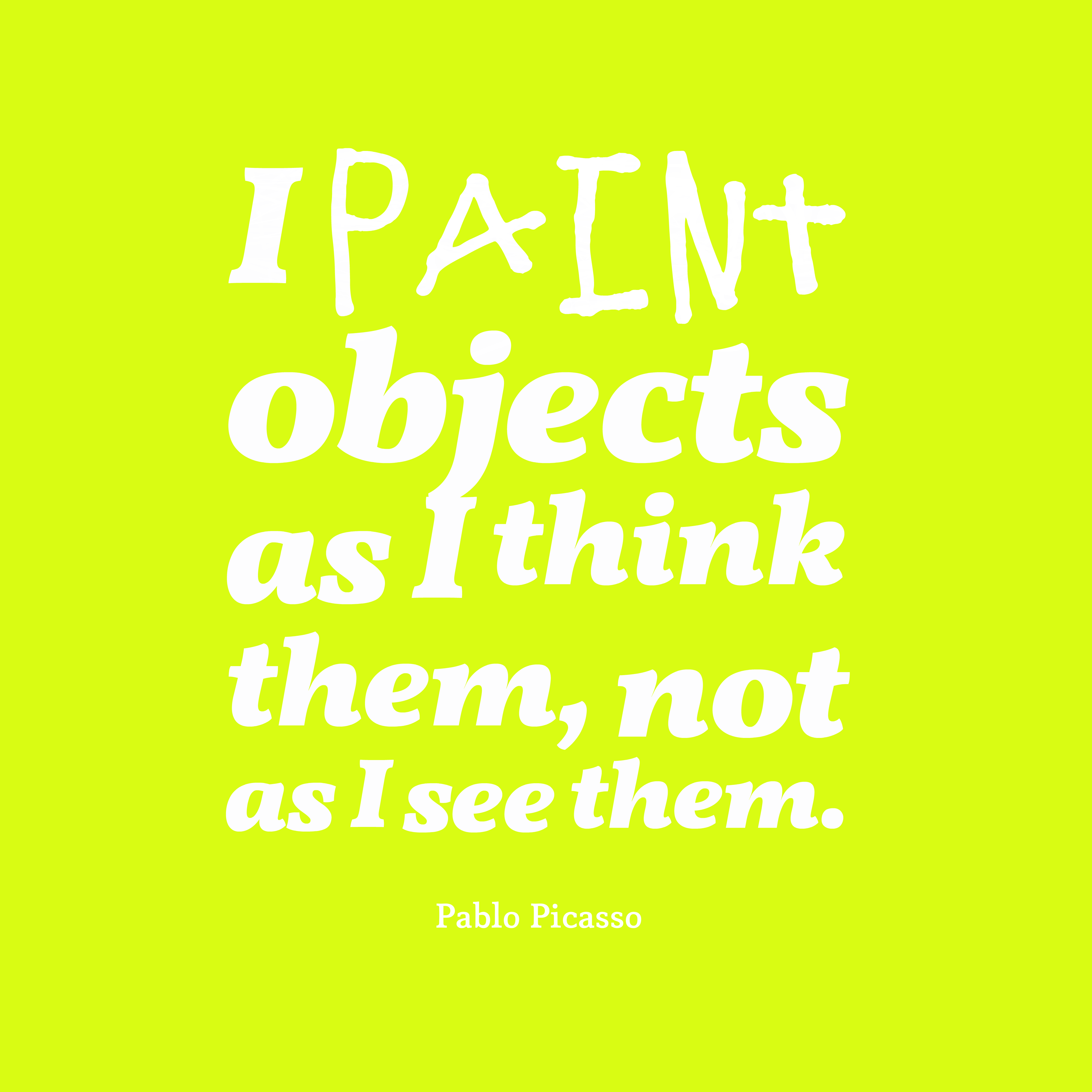 Paint Quotes Picture Pablo Picasso Quote About Paint Quotescover