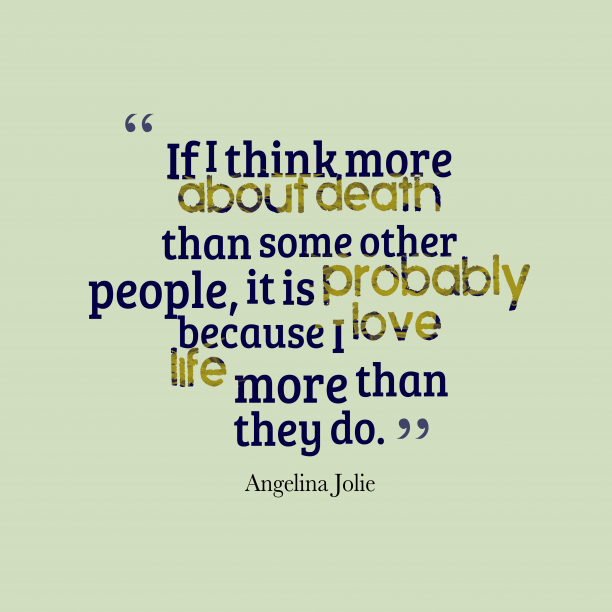 If I think