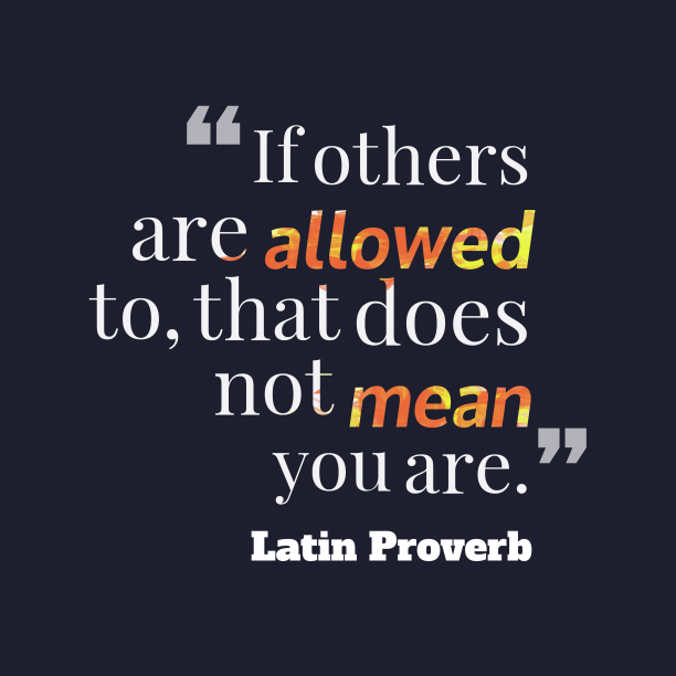 Latin proverb about talent.