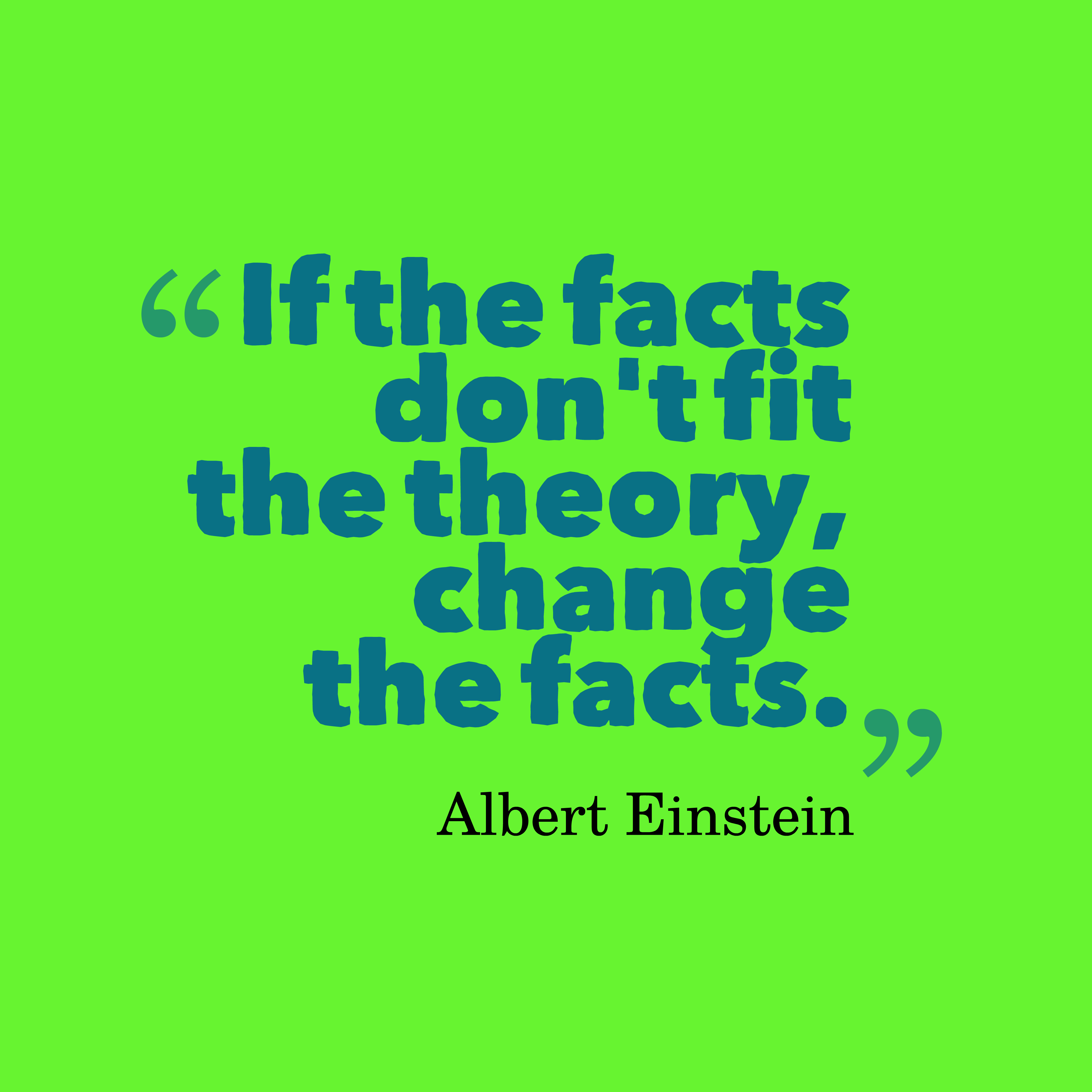 I Don T Fit In Anywhere Quotes: Picture » Albert Einstein Quote About Theory