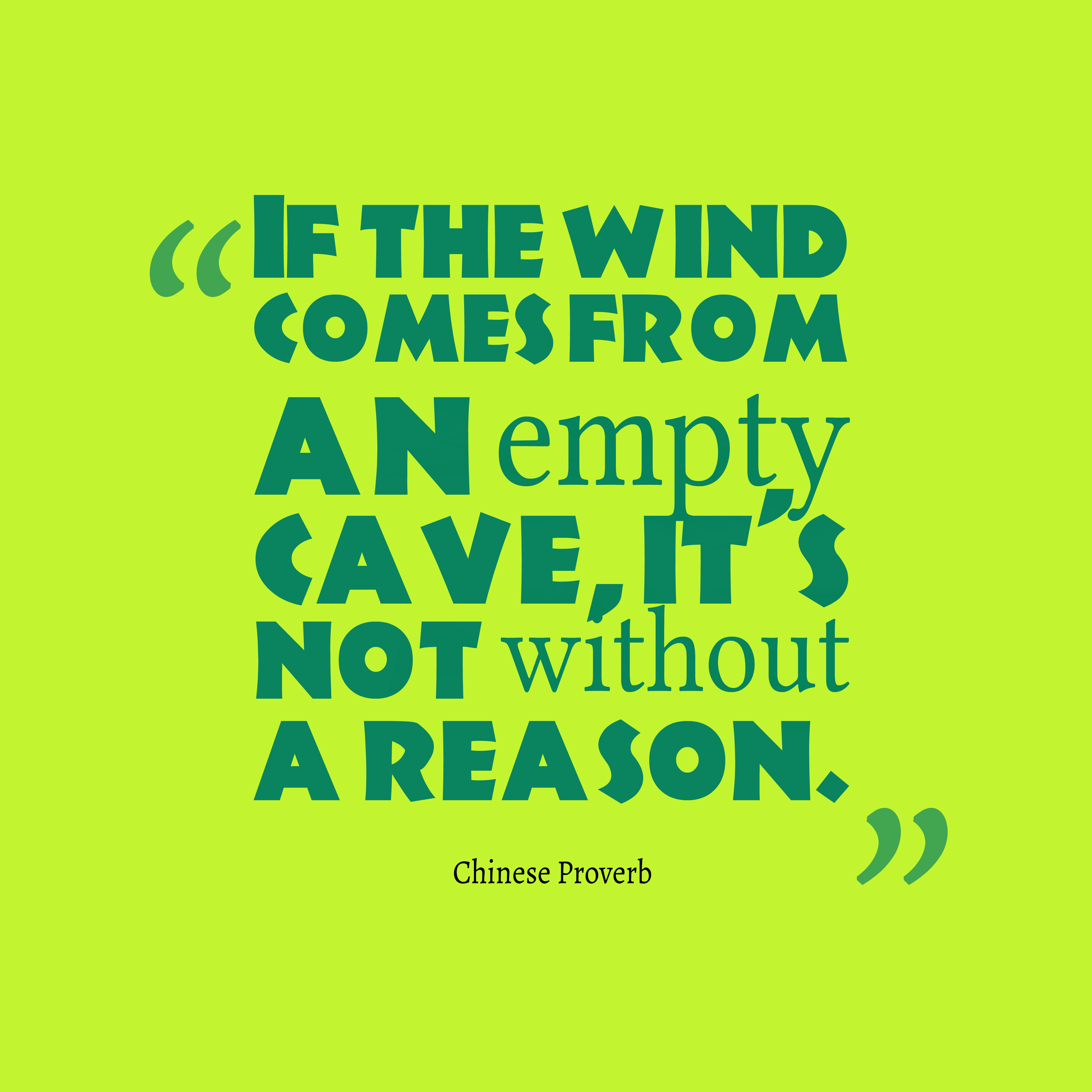 Chinese Quotes: Chinese Wisdom About Reason