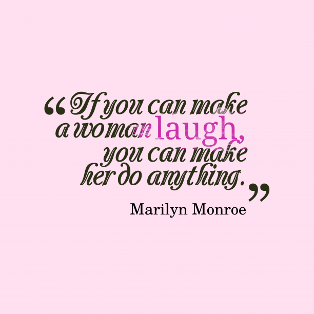 Marilyn Monroe quote about love.
