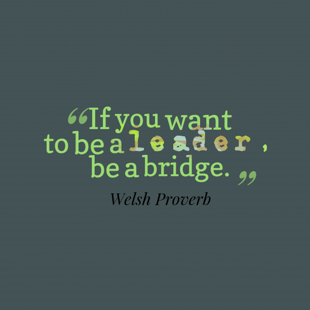 Welsh Wisdom 's quote about . If you want to be…