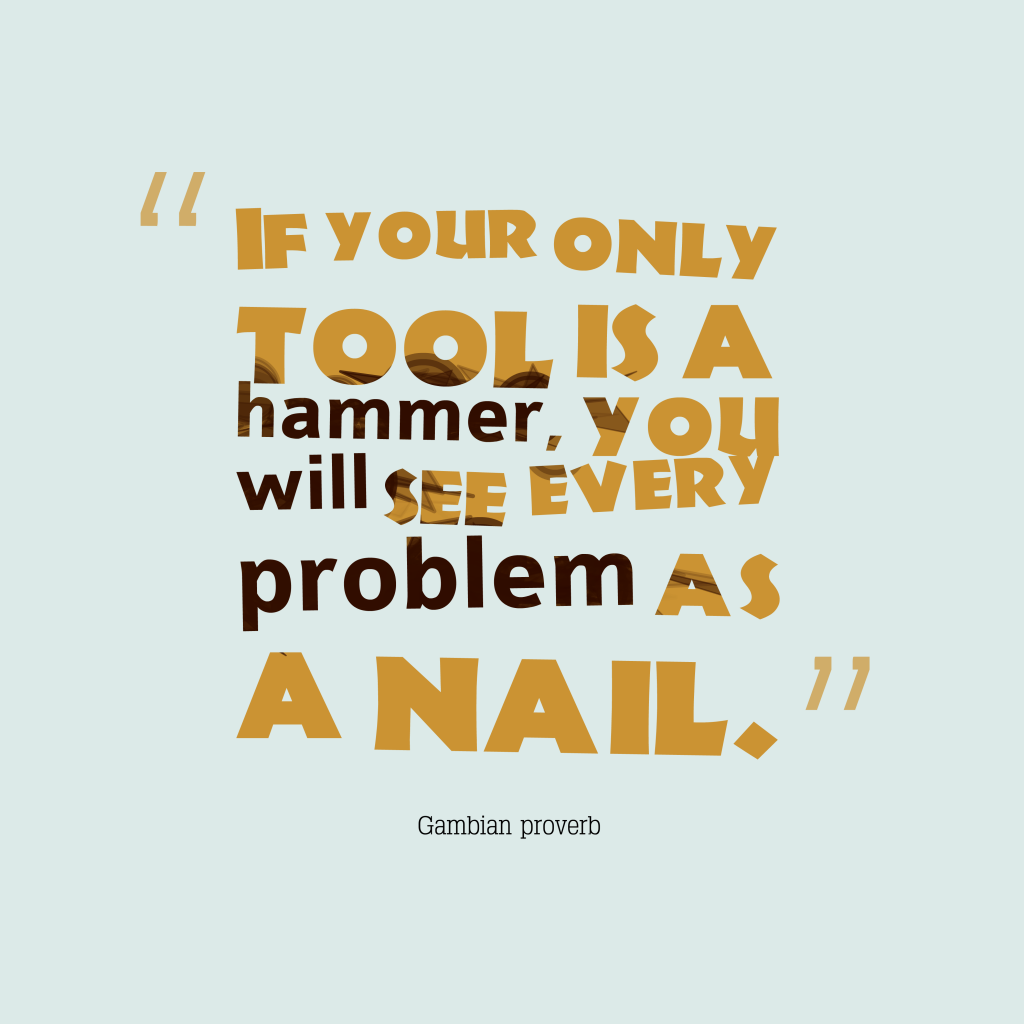 Gambian proverb about problem.