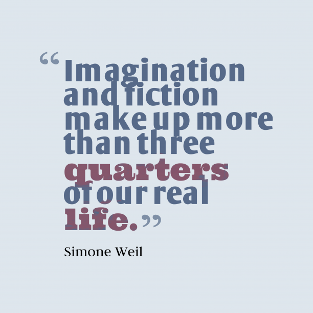 Imagination and fiction