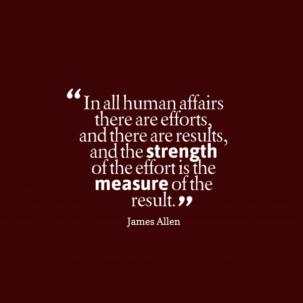 James Allen quote about work.