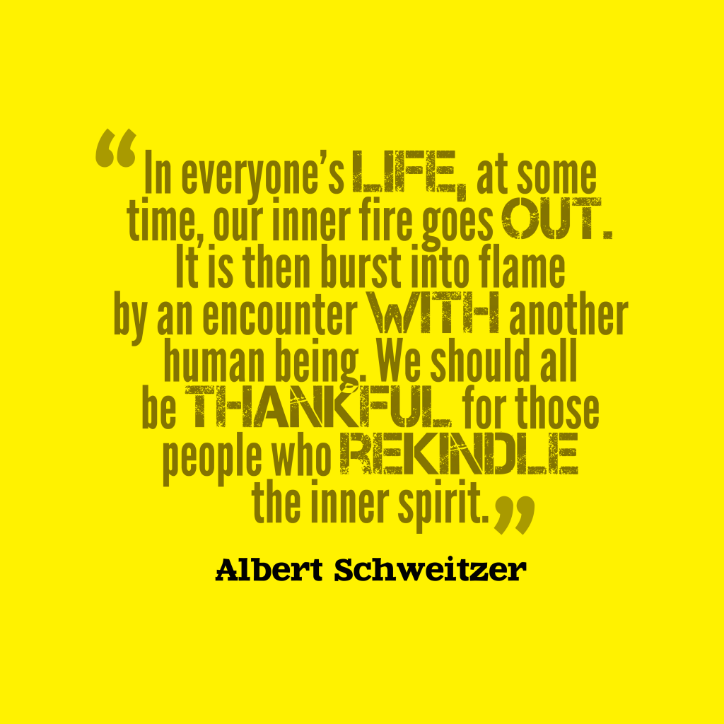 Albert Schweitzer quotes about spirit