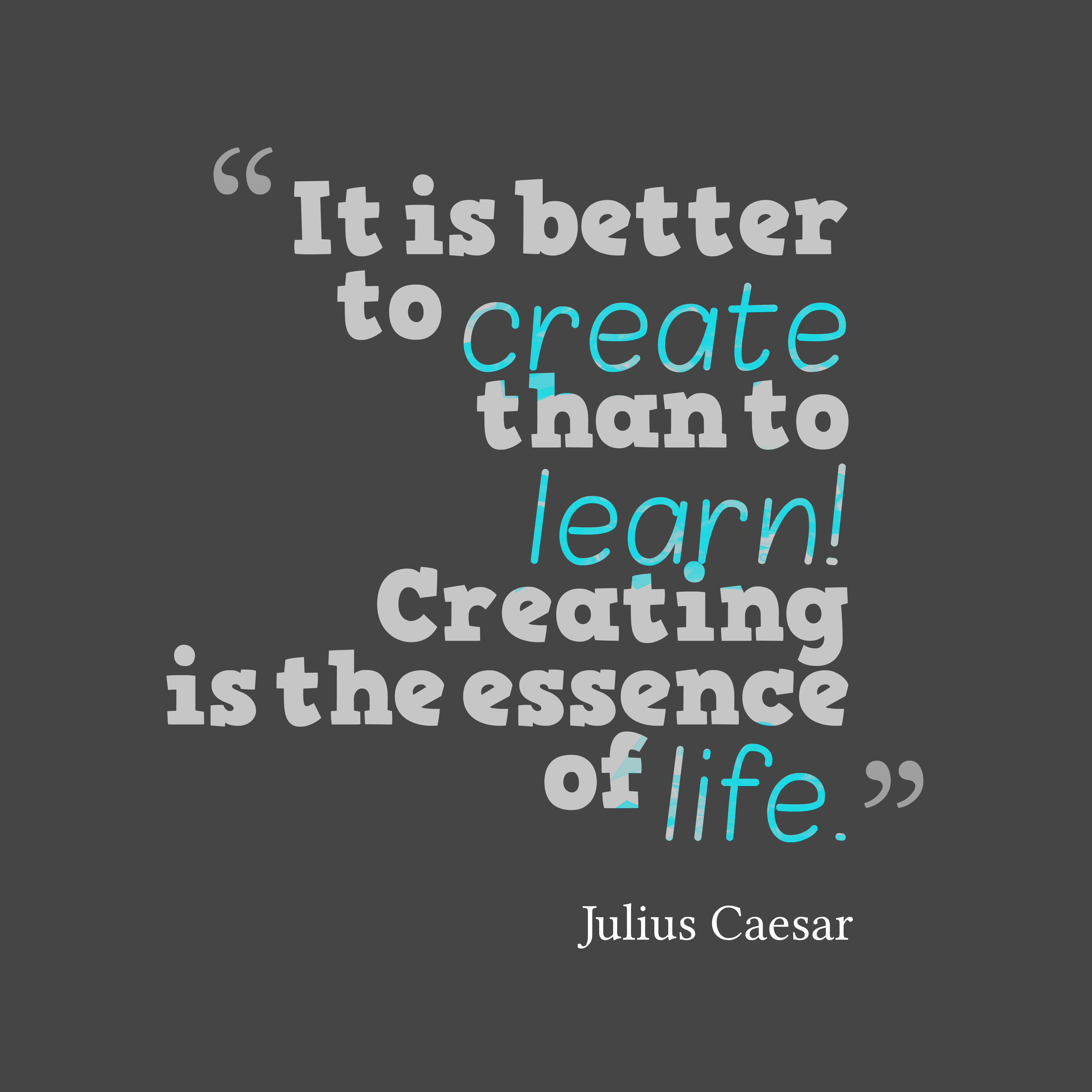 Picture » Julius Caesar Quote About Life