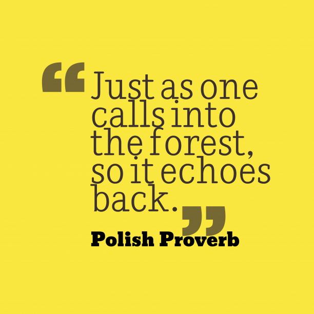 Polish Wisdom 's quote about Forest. Just as one calls into…