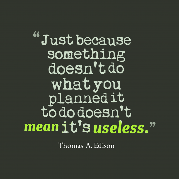 Thomas A. Edison quotes about business