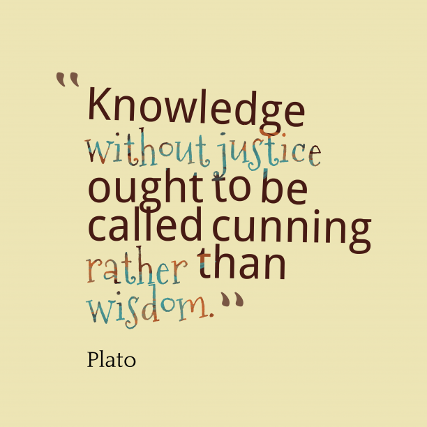 Plato quote about knowledge.