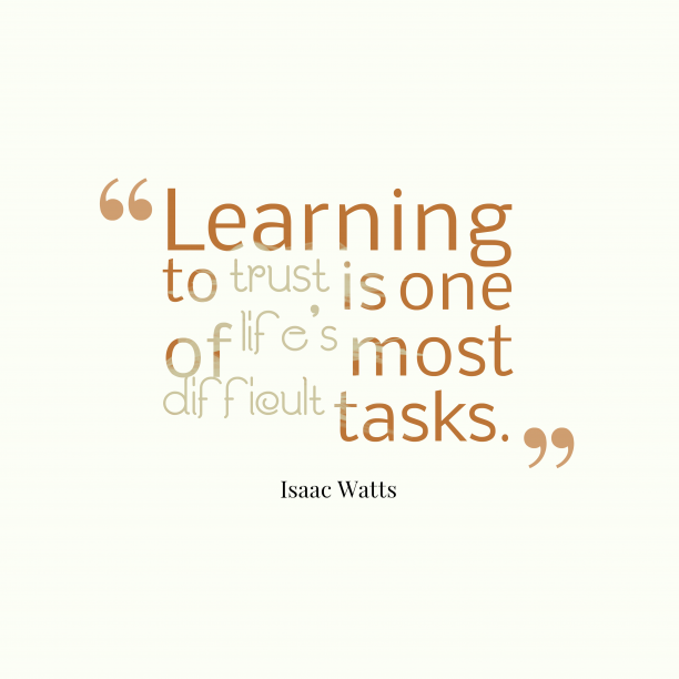 Isaac Watts quote about learning.