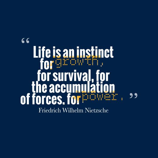 Friedrich Wilhelm Nietzsche quote about power.