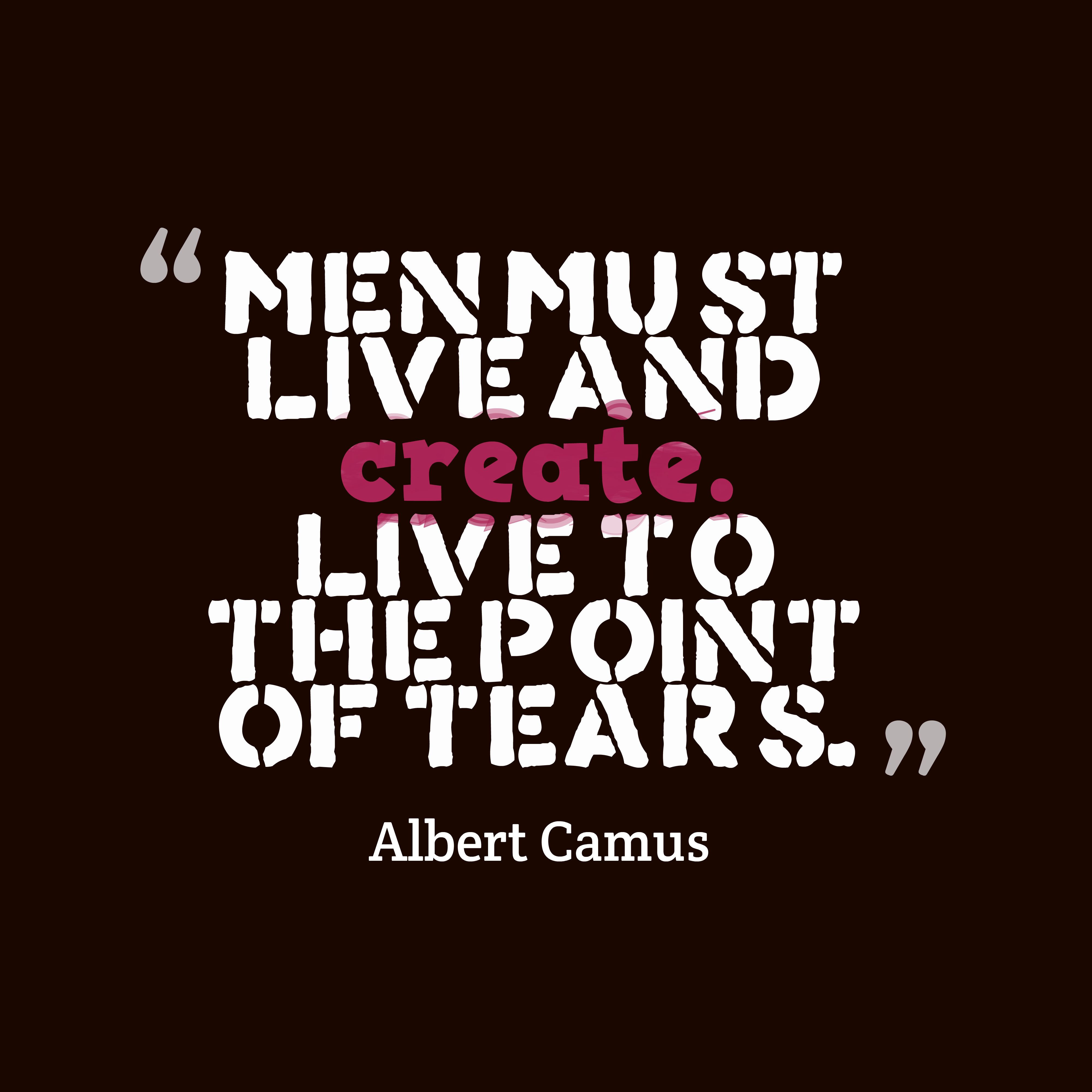 Albert Camus Wquote About Men