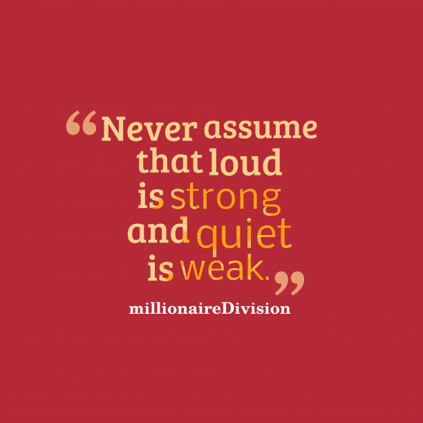 MillionaireDivision quote about life.