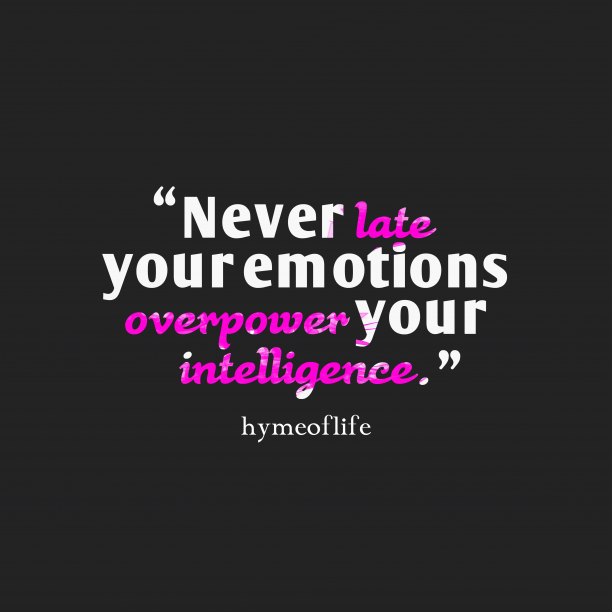 hymeoflife quote about intelligence.