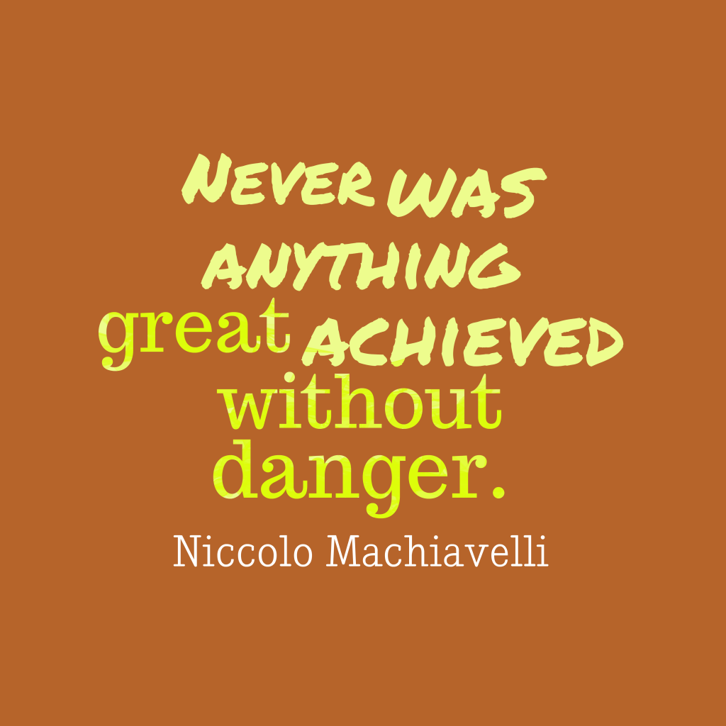 the beliefs of niccolo machiavelli and lao tzu on addressing problems by getting rid of artificial c
