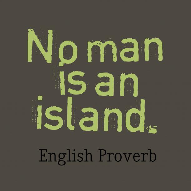 English wisdom about help.