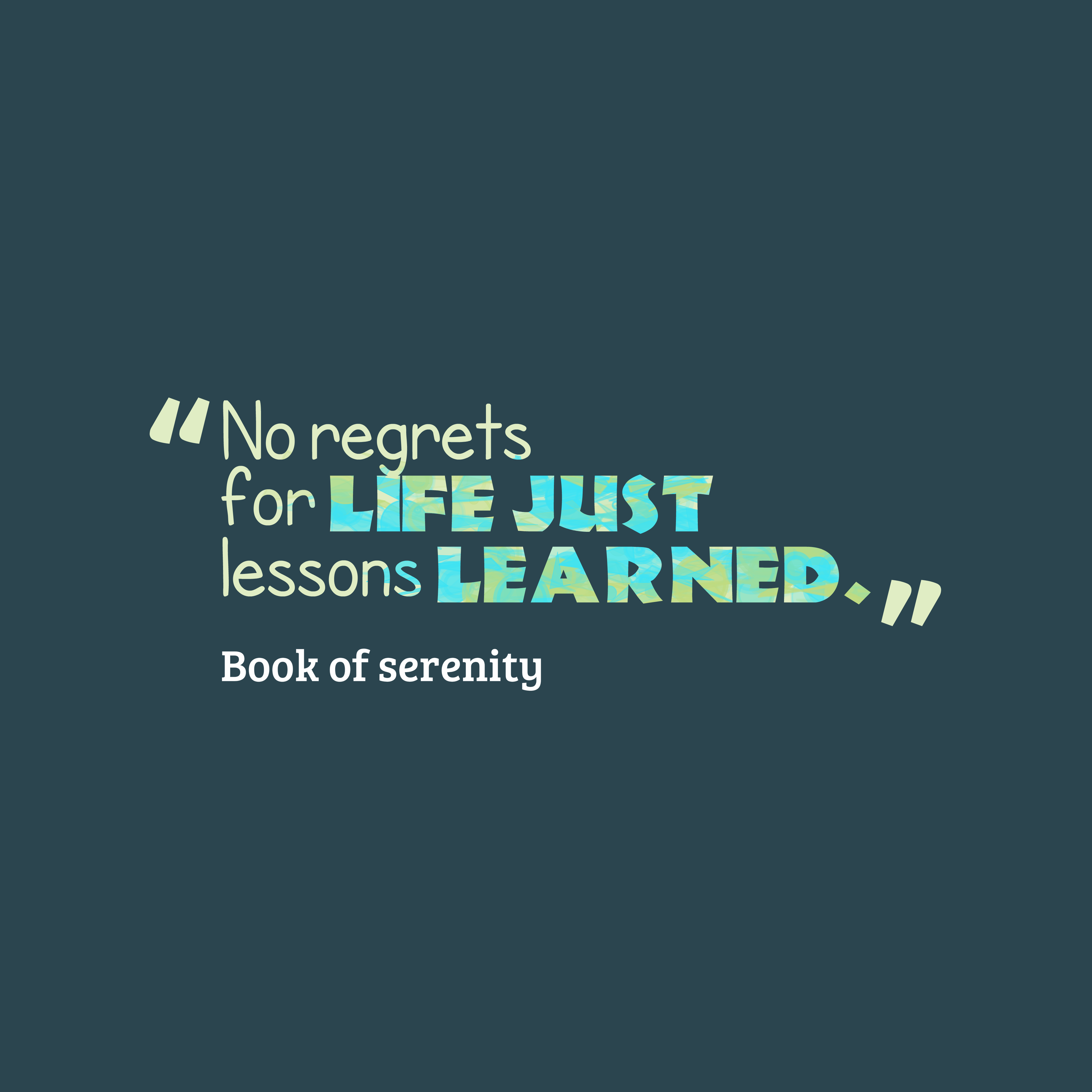 Book Of Quotes | Book Of Serenity Quote About Learn