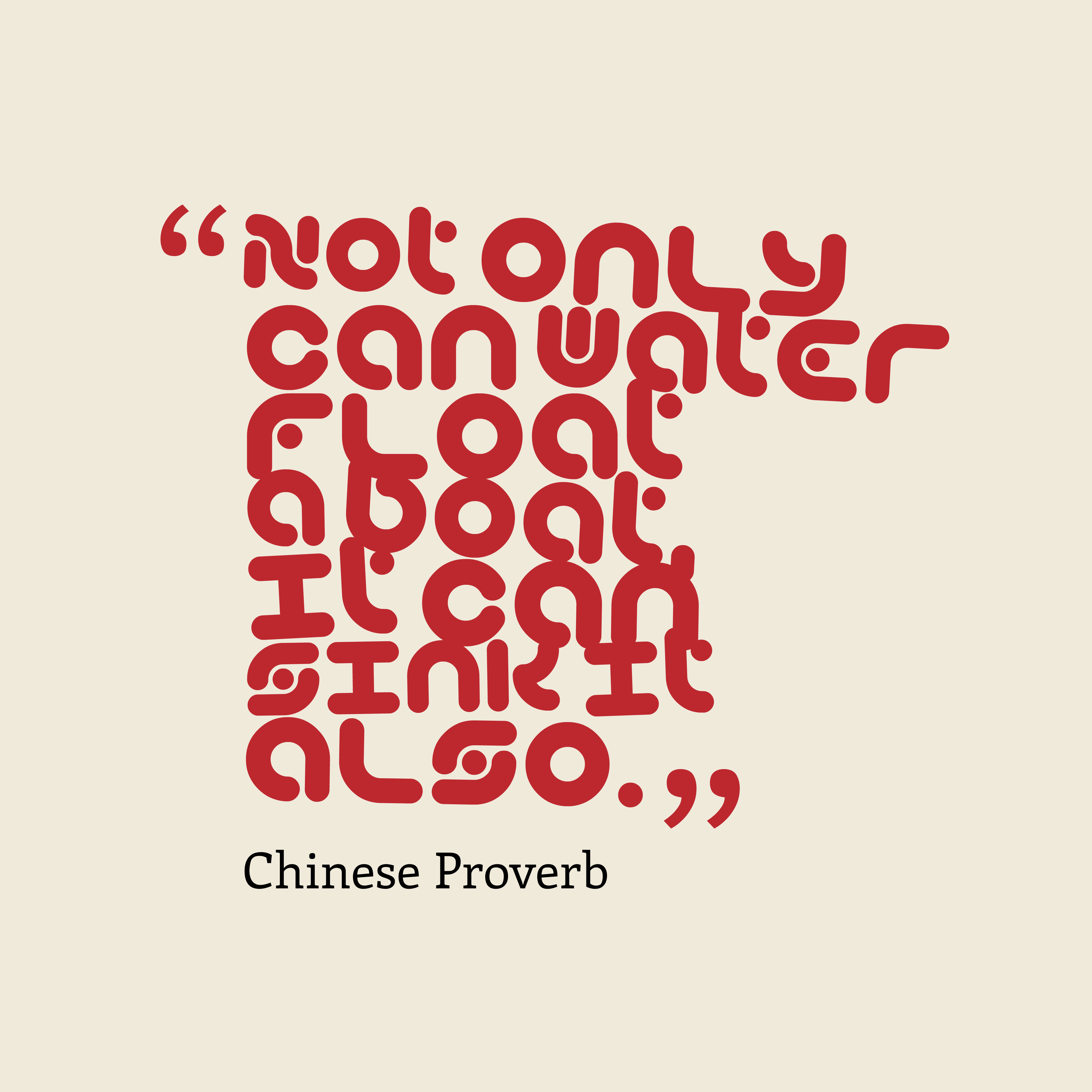 Picture Chinese proverb about nature. | QuotesCover.com