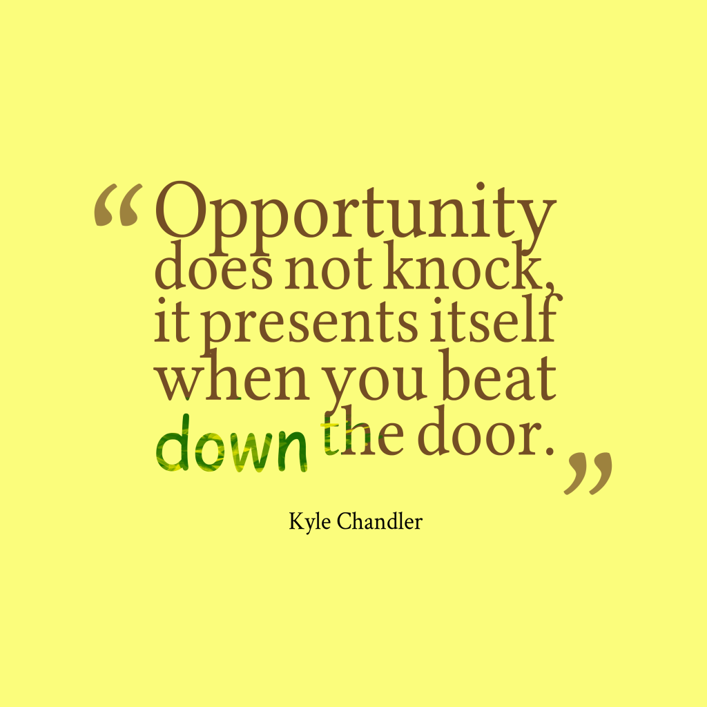 Kyle Chandler quote about opportunity.