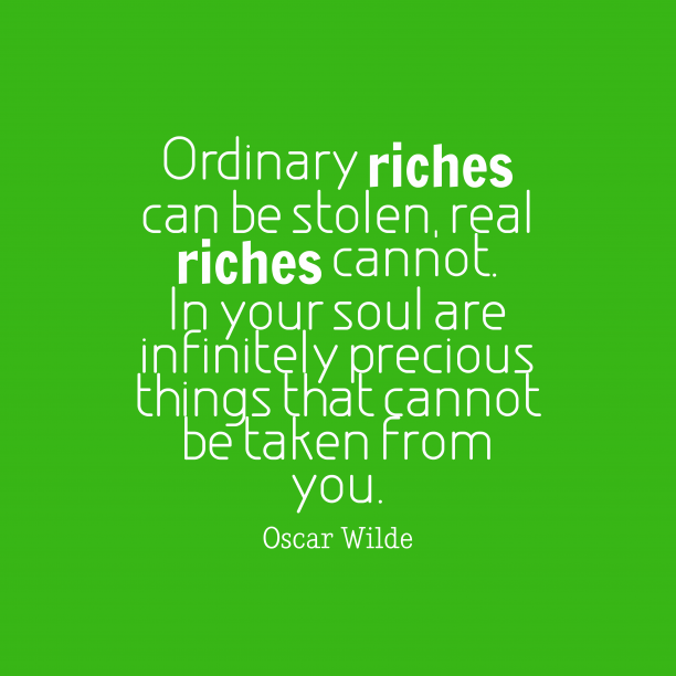 Oscar Wilde quote about soul.