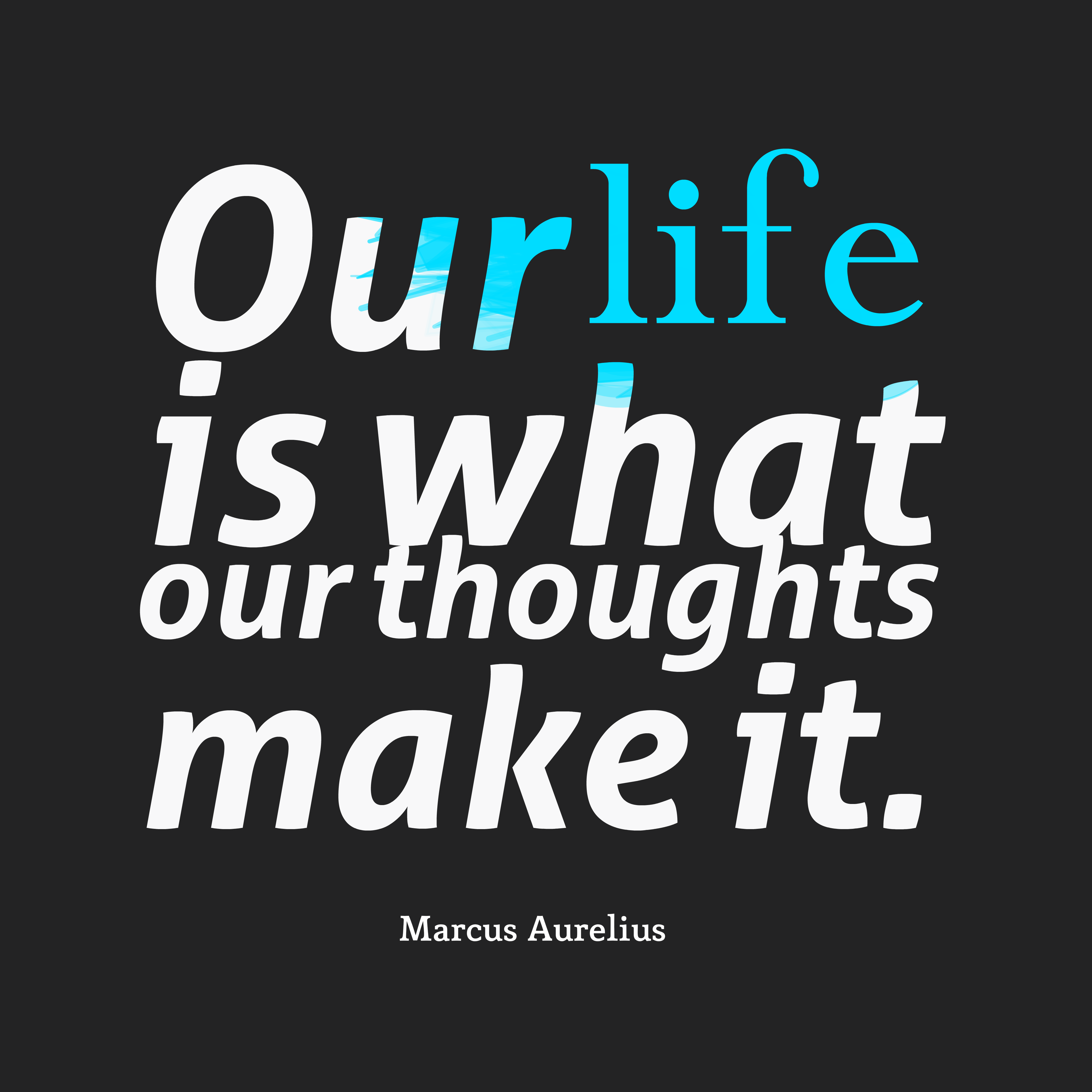 Download Picture Quotes About Life: Get High Resolution Quotes Picture From Marcus Aurelius