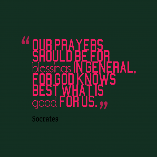 Socrates quote anout religion.