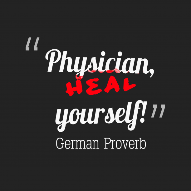 German wisdom about faults.