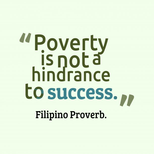Filipino wisdom and meaning.