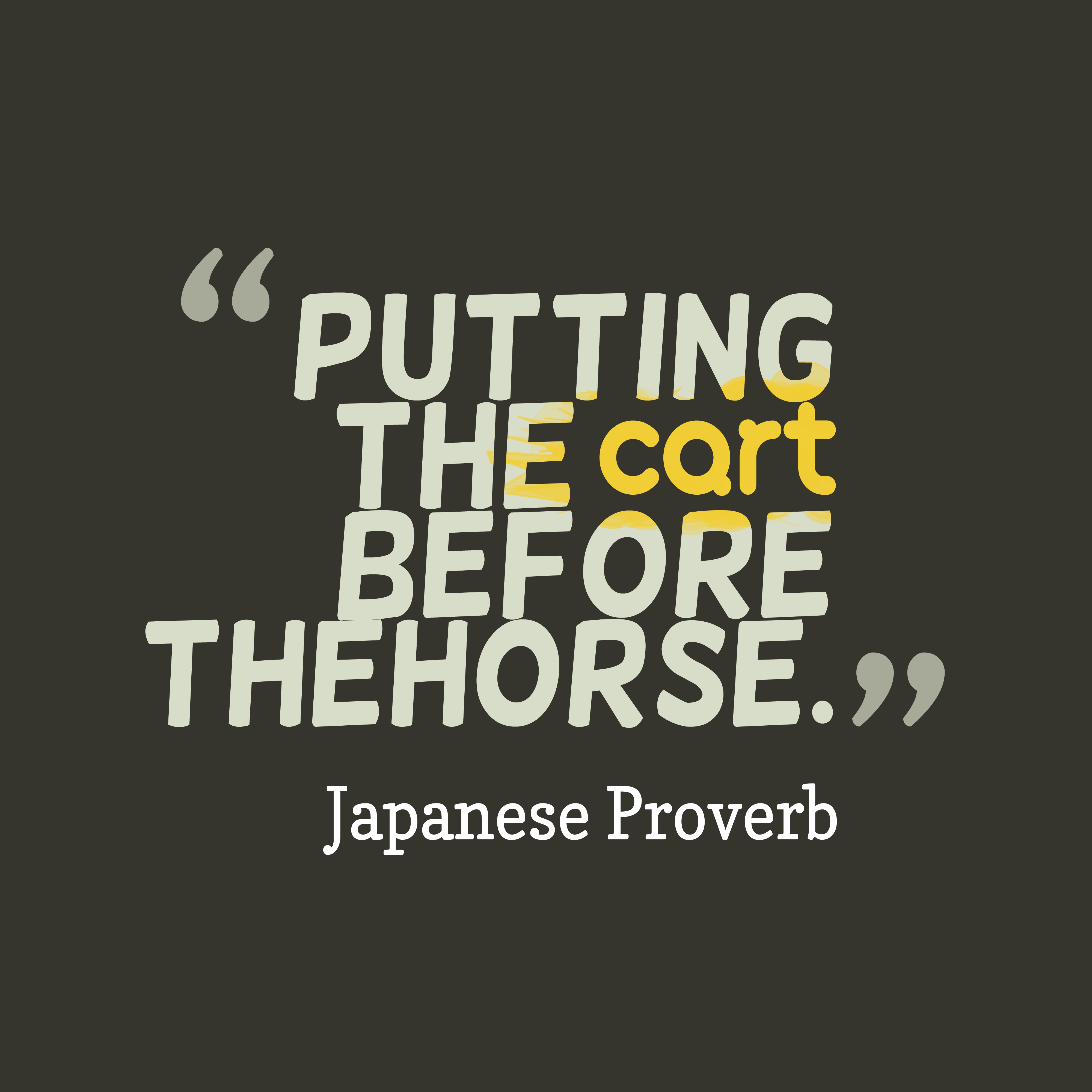Picture Japanese proverb about natural. | QuotesCover.com