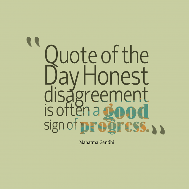 Mahatma Gandhi 's quote about honesty. Quote of the Day Honest…