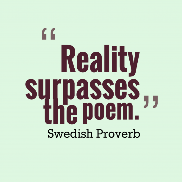 Swedish wisdom about poem.