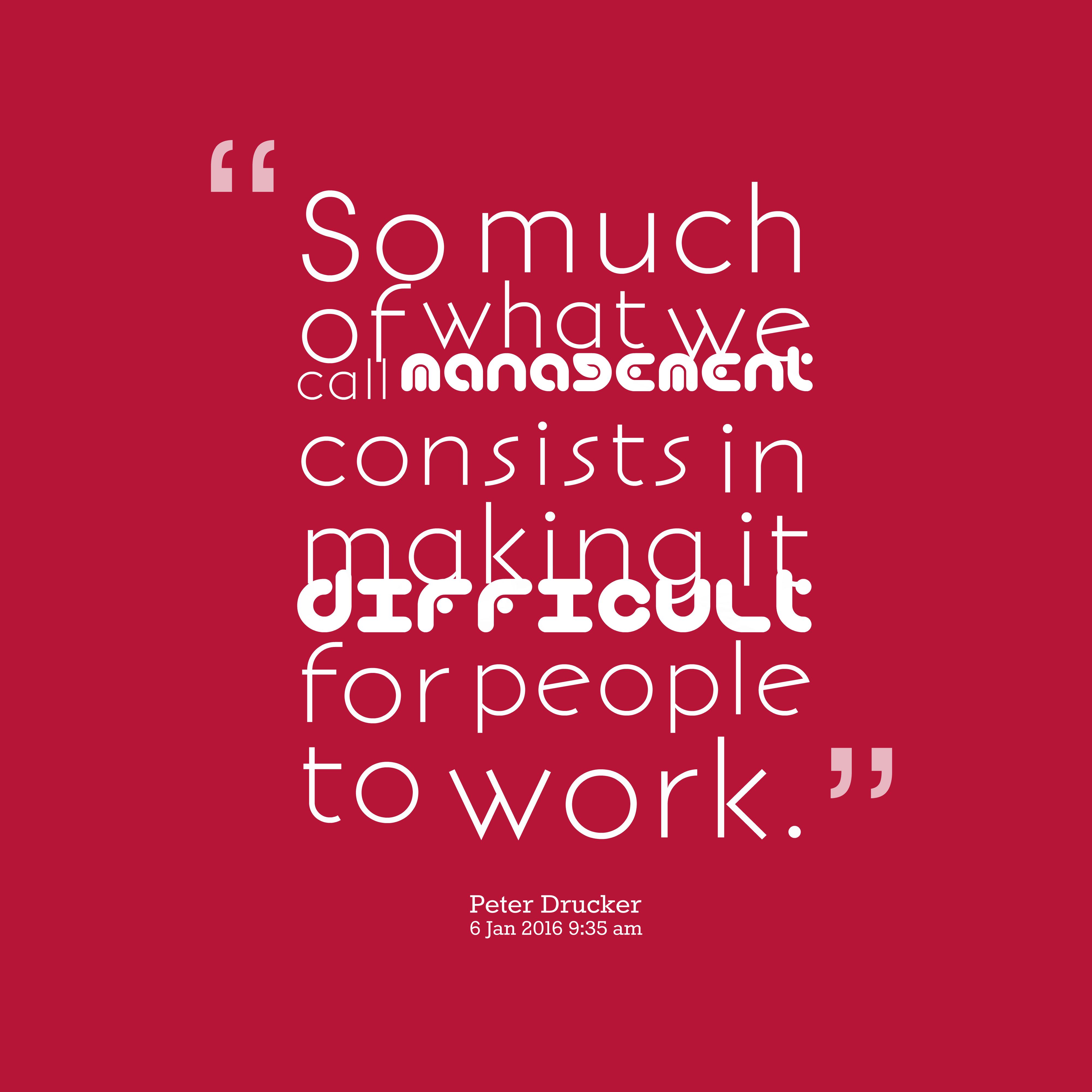 96 Best Peter Drucker Quotes Images