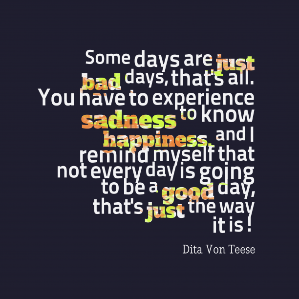 Dita Von Teese quote about happiness.