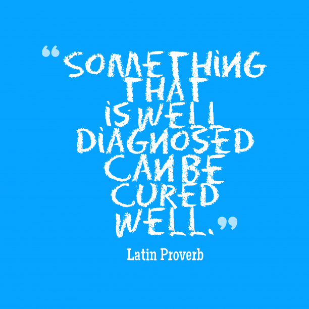 Latin proverb about health.