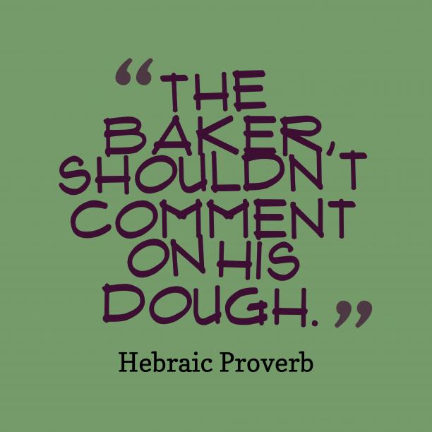 Hebraic wisdom about speak.