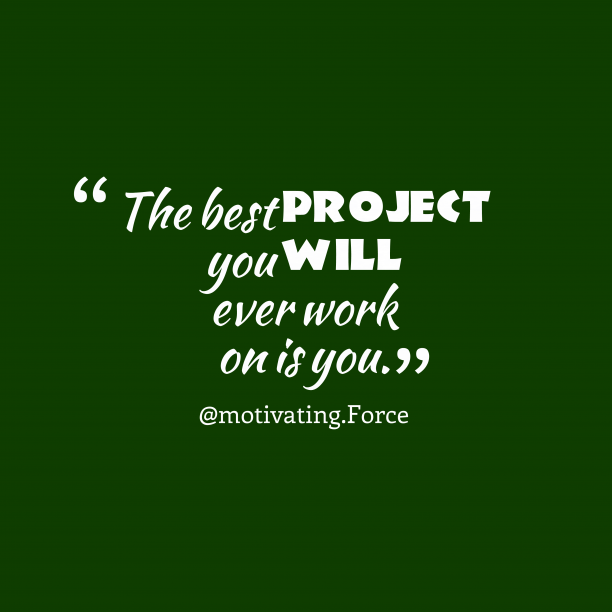 motivation project A poorly motivated team has been known to unravel even the best project plan a good project manager needs to know how to harness the initial excitement that comes with starting a project and use it to maintain motivation – leading to success throughout the project's lifecycle we now know that .