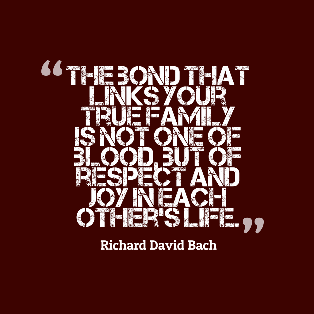 Richard David Bach quote about respect.